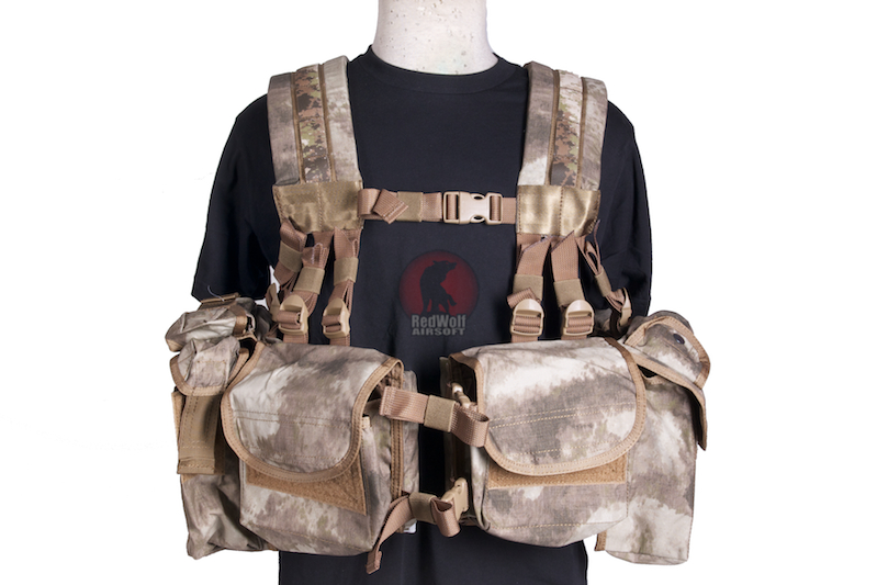 PANTAC SEALS 1195K GUNER Floating Harness (A-TACS / Cordura)