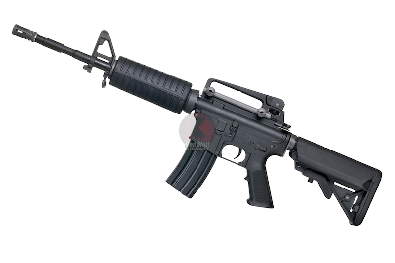 WE M4A1 AEG - BK (Katana System - M120 Red Cylinder)