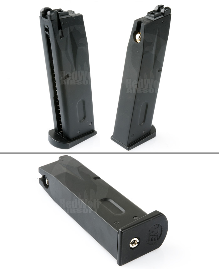 WE 25rds Magazine for M92 (Black)