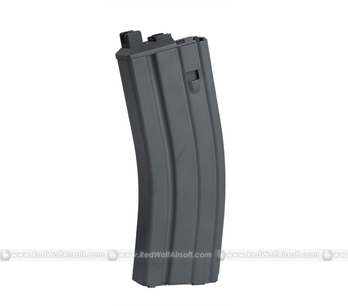 WE 30rds CO2 Magazine For WE M4 and SCAR (Black) for CLOSED BOLT Version