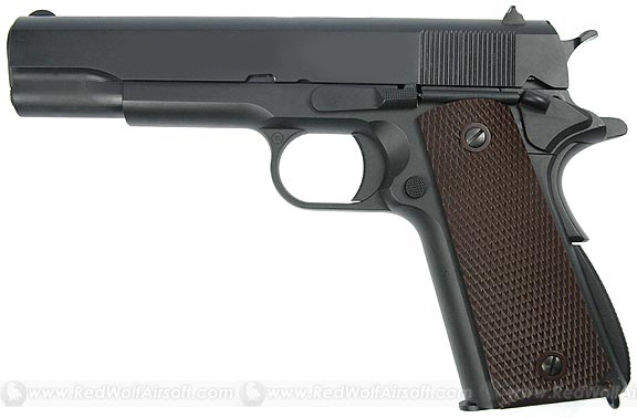 WE M1911 with Markings (Full-Metal Version)<font color=red>(Clearance)</font>