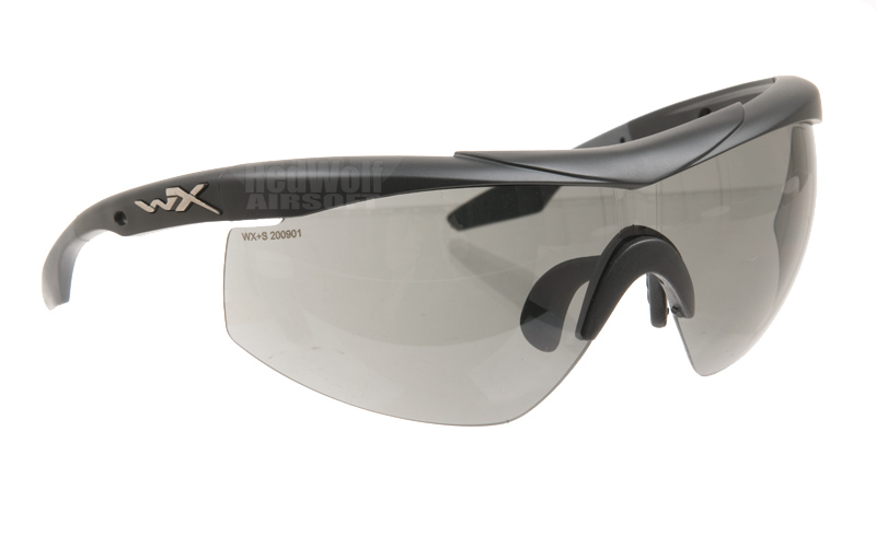 Wiley X WX Talon with Smoke and Clear Lens / Matte Black Frame (Includes RX Insert)