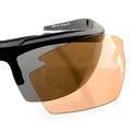 Wiley X Guard - Grey/Clear/Rust Lens / Matte Black Frame