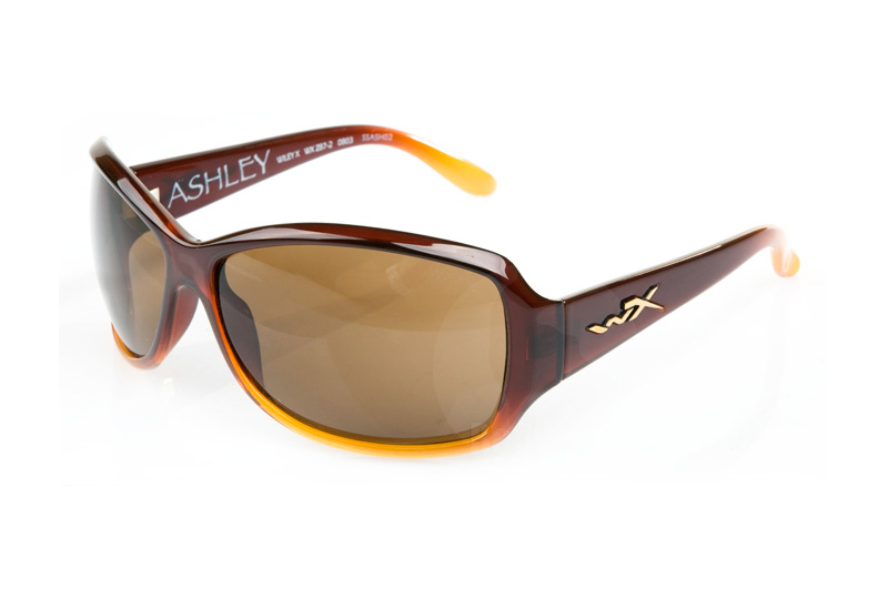 Wiley X Ashley with Bronze Lens / Brown Fade Frame (With Accessories)