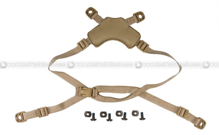 Ops-Core Head-Loc ACH Retention System (X Style L-XL / Tan)