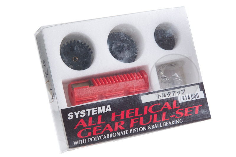 Systema All Helical Gear Full Set Torque Up Ratio