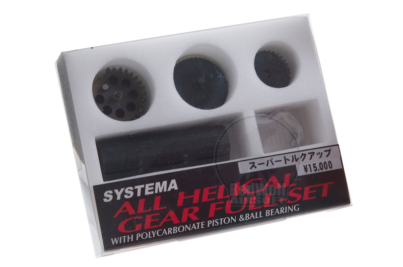 Systema All Helical Gear Full Set Super Torque Up Ratio