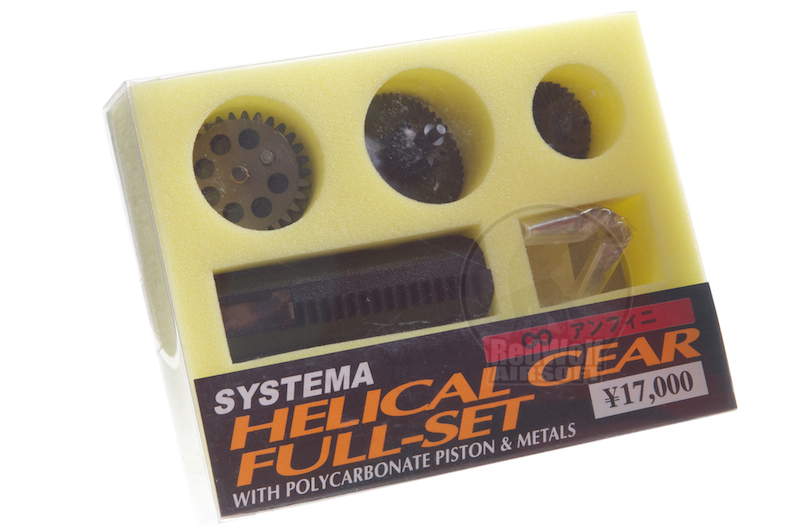 Systema Helical Gear Set Infinite