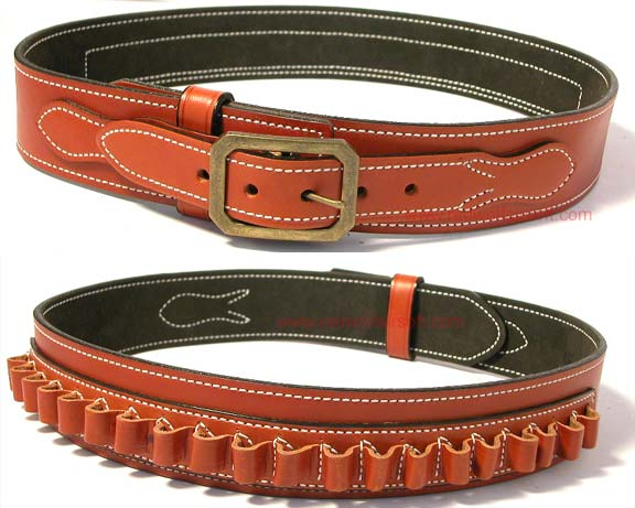 Desantis Desperado Gun Belt (Tan Leather)