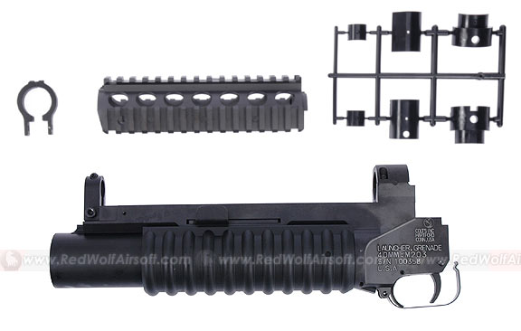 CAW M203 Grenade Launcher (Short Barrel for Marui M4A1)