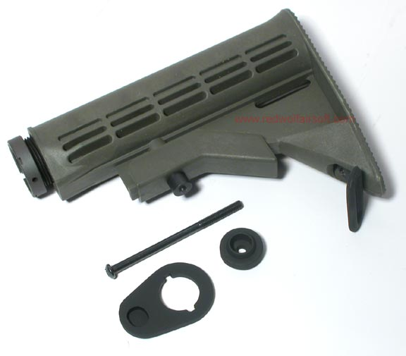 G&P M4A1 6 Position Sliding Buttstock (OD, New Model)