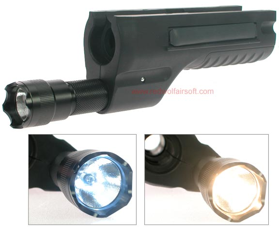 G&P Shotgun Handguard with T8 Tactical Light for M870