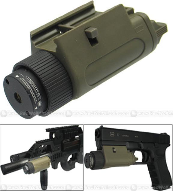 King Arms M3 VLM Laser (OD)