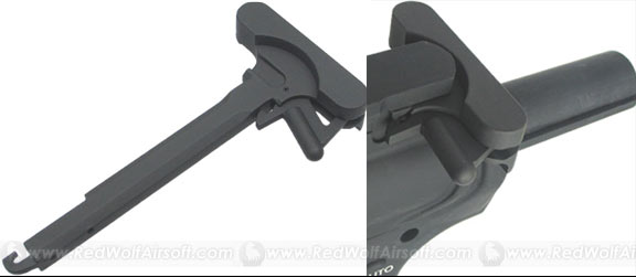 King Arms Charging Handle with M84 Bit Latch for M4 Series