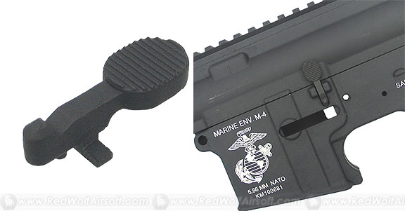 King Arms Bolt Catch for M4 Series