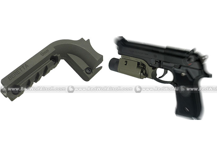 King Arms Pistol Laser Mount for M9 (OD)