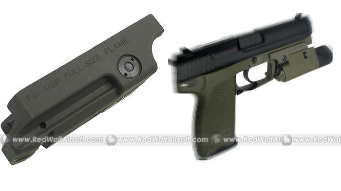 King Arms Pistol Laser Mount for USB .45 (OD)
