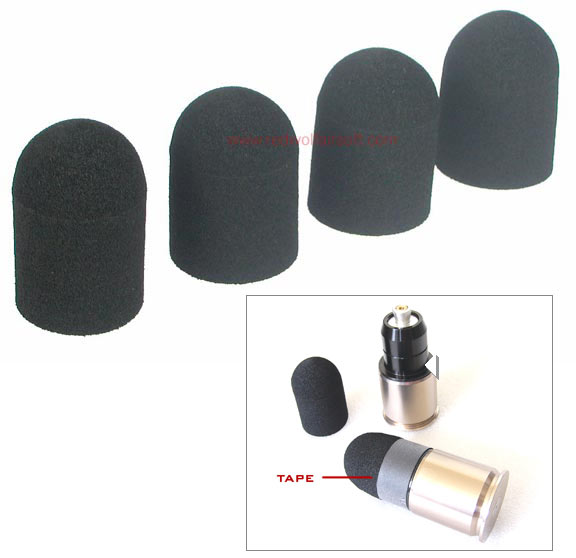 Madbull Soft Foam Head Set for M576 (4 pcs / Set)