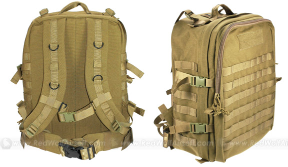 PANTAC A-III Molle Medical Pack (Khaki / CORDURA)