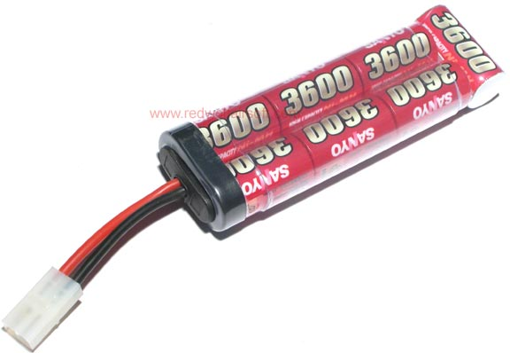 Sanyo 8.4v 3600mah Battery (NiMH) - Large Type